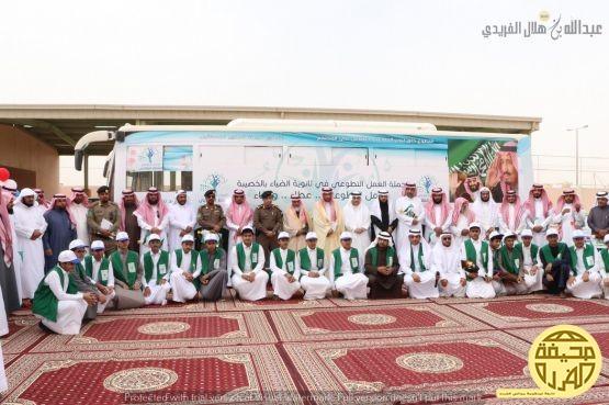 تغطية حفل البرنامج التطوعي لثانوية الضياء بالخصيبة  تصوير/ عبدالله هلال الفريدي