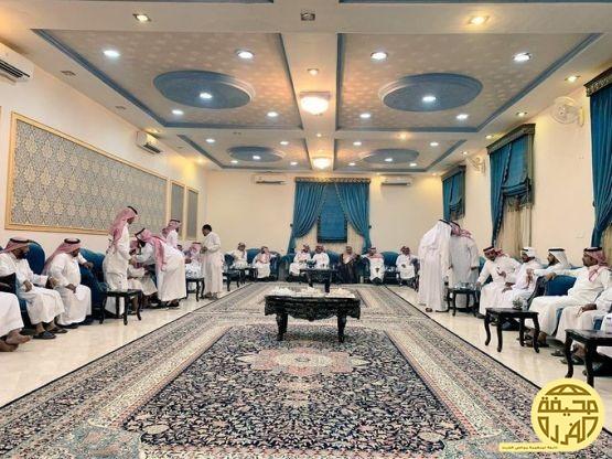رئيس مركز الدليميه يستقبل الدكتور /محمد سعد الفريدي