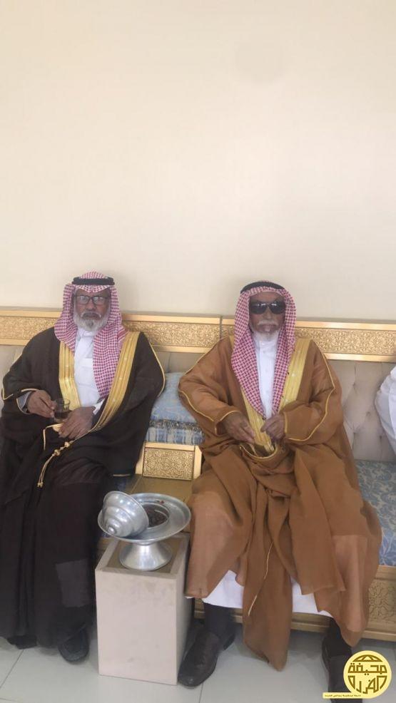 عمدة القوارة الشيخ نداء ابن هديب يستضيف بعض المشايخ والوجهاء