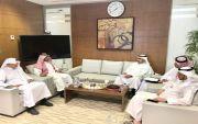 محمد عبدالرحمن الفريدي مدير المدرسة السعوديه باسطنبول بفريق الاداره