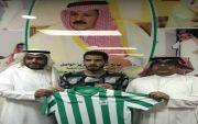 اللاعب / عبدالله بن عبدالمحسن بن ناشي من ضمن طاقم نادي النجمه