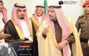 تشرف رجل الاعمال /صالح الاجهر و اخوانه بزياره أمير منطقة القصيم تصوير #سعد_الريس