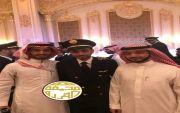 تخرج  الكابتن طيار / علي حمود علي الفريدي من المؤسسة العامة للخطوط الجوية العربية السعودية