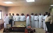 تكريم الشيخ/نايف بن جازي الوسوس من قبل زملائه في شركة ارامكو.