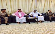 رئيس مركز النقره الشيخ هادي بن حمادد يستقبل الاهالي لمبايعة ولي العهد