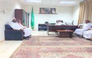 استقبل الشيخ غازي بن علي بن حماد رئيس مركز خصيبه الاهالي لمبايعة ولي العهد