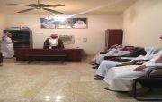 استقبل الشيخ عباس بن عبدالله بن دهيليس رئيس مركز المخرم الأهالي لمباعة ولي العهد