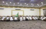 استقبل الشيخ/ نواف بن جازي الوسوس رئيس مركز طلحه الأهالي لمبايعة ولي العهد