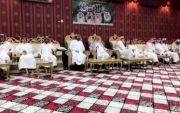 ابناء الشيخ رشيد بن سدحان الفريدي في زيارة الاستاذ سعد محارب الوسوس باوثال