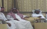 الرائد الشيخ طلال بن بتلا والدكتور منصور الوسوس في زيارة للشيخ سعود بن نايف بن هديب