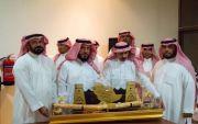 تكريم الرئيس رقباء /هليل بن علي الوسوس الفريدي