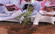 تدشين حملة ارض القصيم خضراء في خصيبه