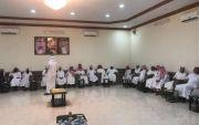 شرف بعض شيوخ حرب وعدد من الدكاترة والمحافظين ورؤساء المراكز والأعيان الشيخ فيحان عزوز ابوعشاير