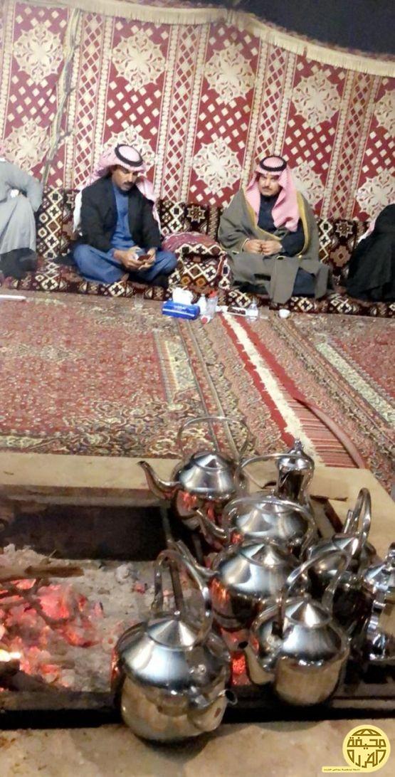 الشيخ ابن ربيعان والوسوس في ضيافة بدر الفريدي
