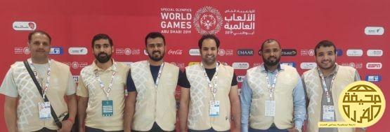مشاركة المشرف العام على مجالس الفرده في #أولمبياد_أبوظبي_2019