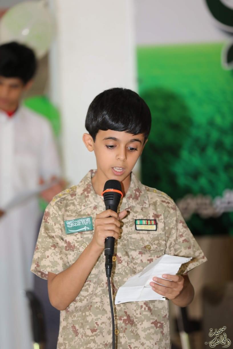 الطالب/ غنام محمد الفريدي يدهش الجميع برسالته المؤثره
