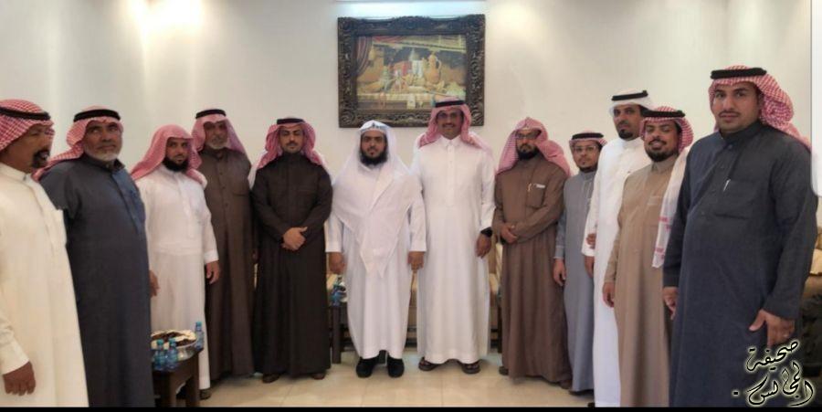 استضافة أبناء الشيخ / سعود بن صنت ابن حمدي لصاحب السمو الأمير متعب بن فهد الفيصل الفرحان آل سعود