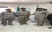 ترقية عبدالرحمن بن سعود العفري الفريدي لرتبه رئيس رقباء