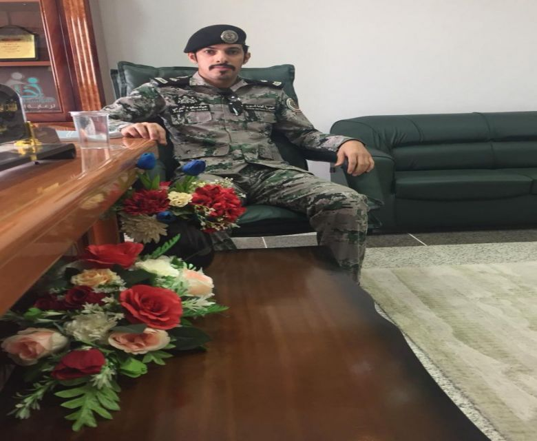 ترقية النقيب / عياد بن سعود بن زعل الفريدي لرتبة رائد