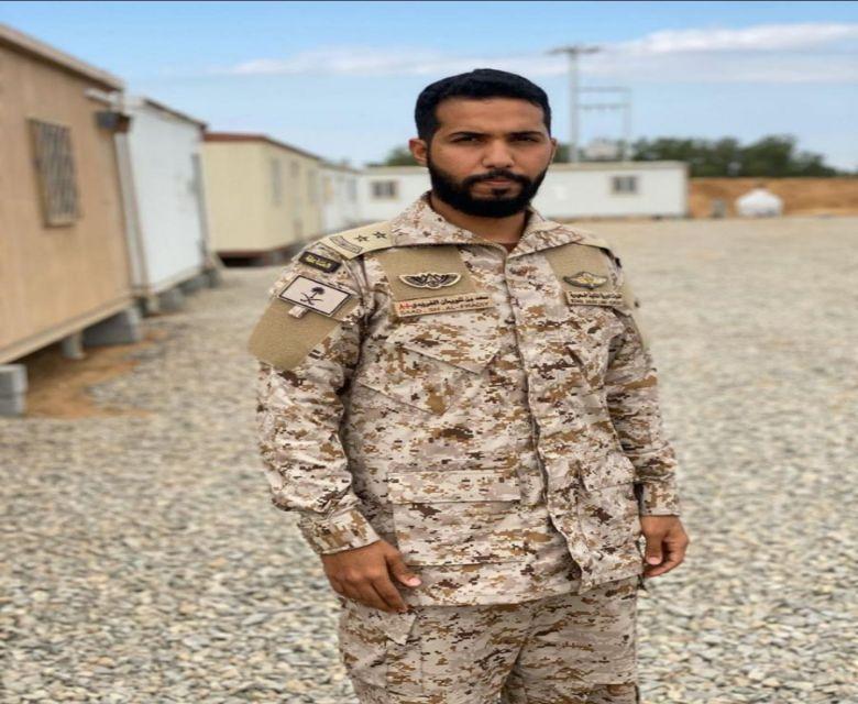 ترقية الملازم مظلي سعد بن شويمان بن غنيمان