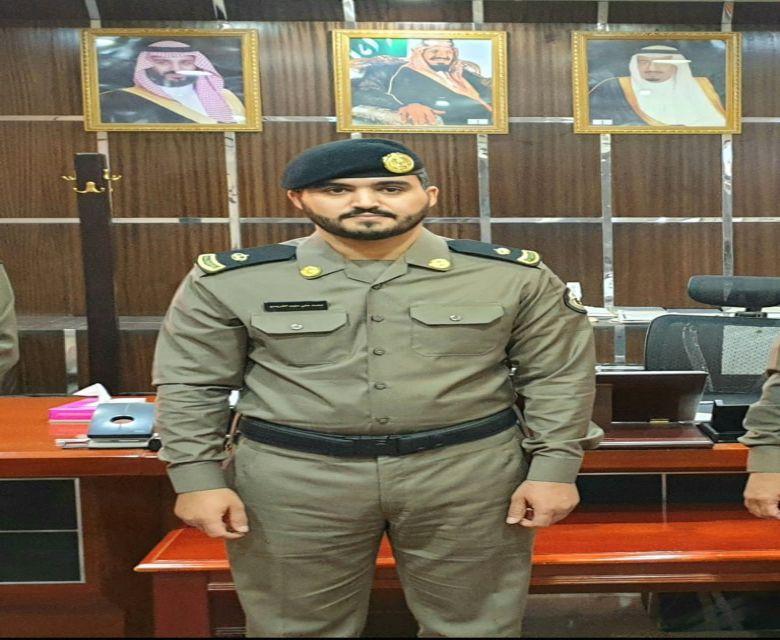 ترقية النقيب محمد بن علي بن سليم الفريدي الى رتبة رائد